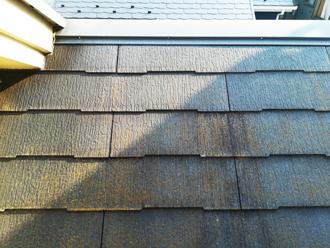 スレート屋根の劣化具合