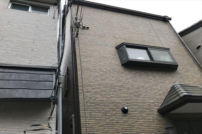 サイデイングの外壁、築15年のお宅