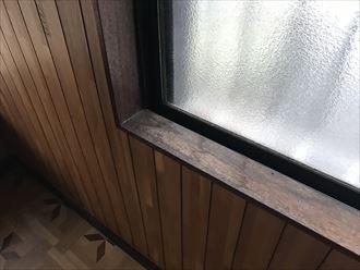 窓廻りの雨漏り