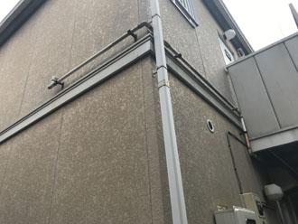 モルタル調のサイディング外壁