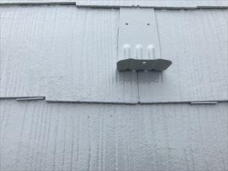 スレート屋根にタスペーサー