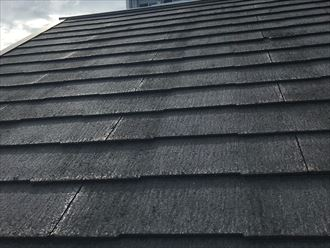屋根材はコロニアルネオ