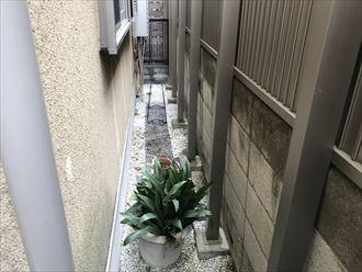 モルタル外壁の状況