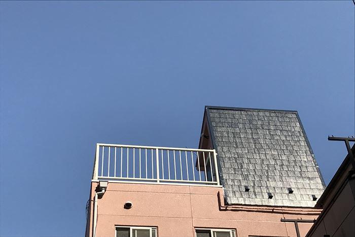 屋根塗装で屋根に光沢