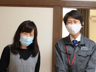 S様と高田さん