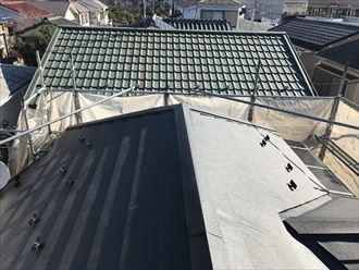 スーパーガルテクトの屋根カバー