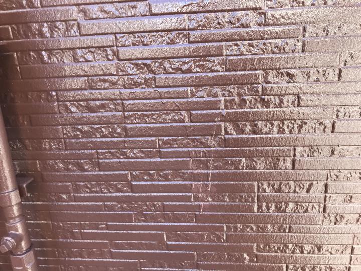 外壁塗装工事竣工