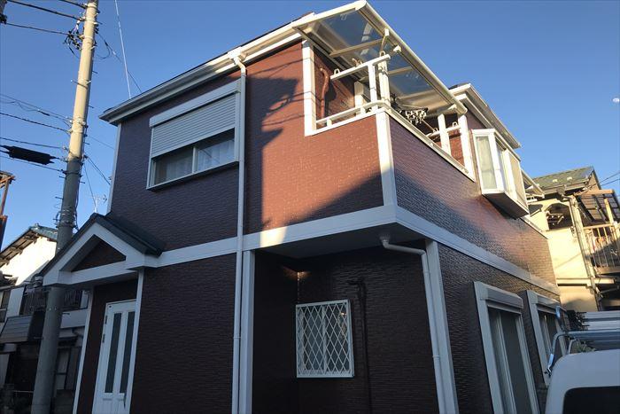 屋根カバー、塗装改修工事の完成です