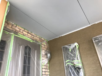 外壁塗装前の養生