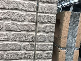 外壁の釘割れが発生