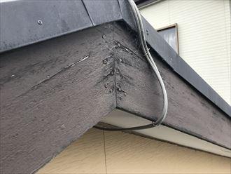 破風板の劣化症状