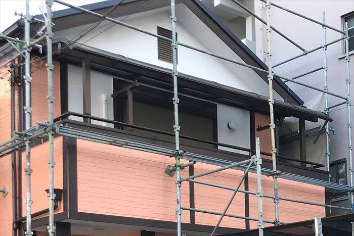 2色分けの外壁塗装