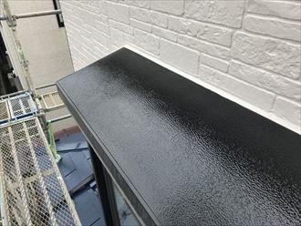 出窓屋根の塗装