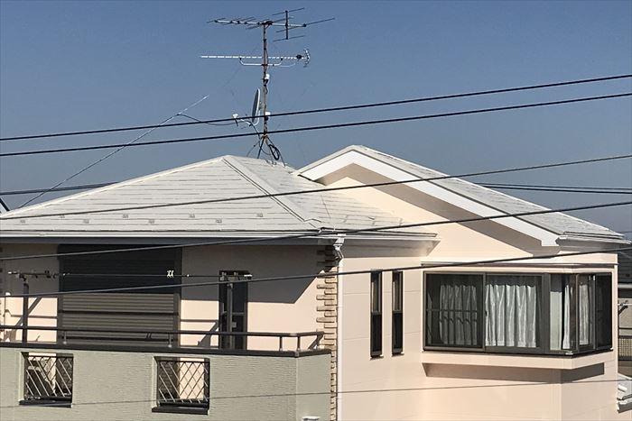 屋根の仕上がり写真