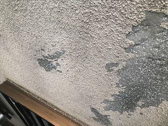 モルタル表面の剥離