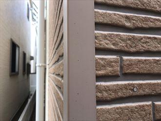 江戸川区中葛西でサイディング外壁の点検調査、クリヤー塗装の注意事項について