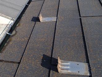 国立市青柳の屋根塗装調査、塗膜が劣化したスレートにファインパーフェクトベストをおすすめ