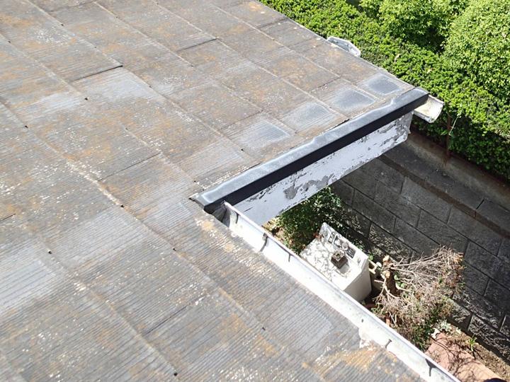築24年目のスレート屋根