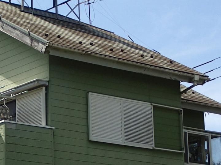 ご相談いただいたスレート屋根