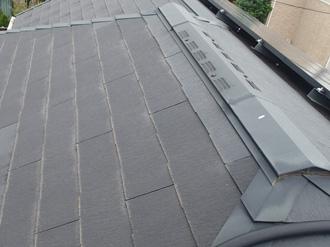 築15年目のスレート屋根