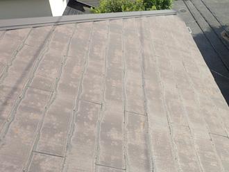 スレート屋根の塗膜劣化