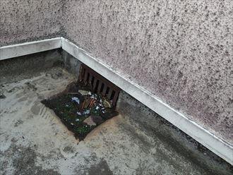 排水口の詰まり