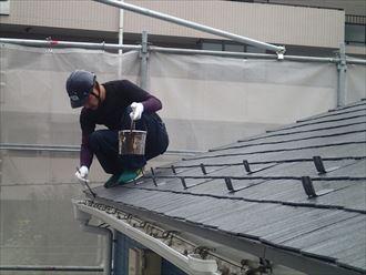 屋根,タッチアップ