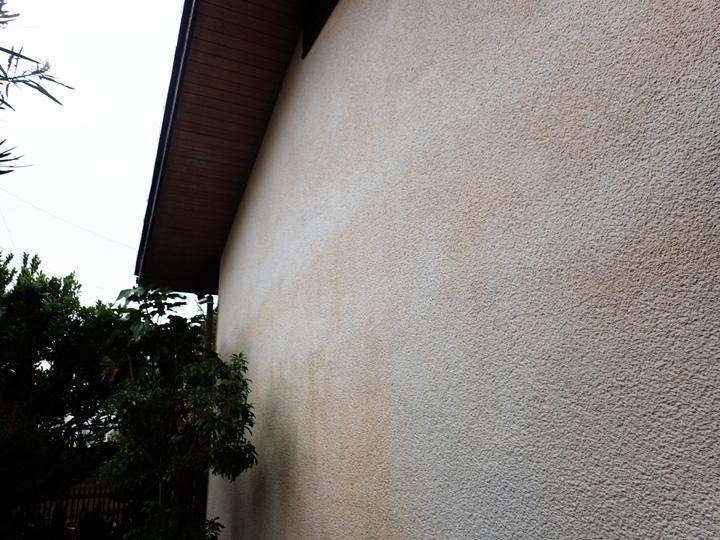 外壁の色斑