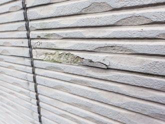 サイディング外壁一部破損