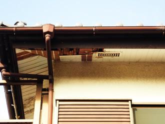 軒天化粧板の傷み