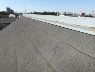棟板金交換工事 屋根塗装 工事前