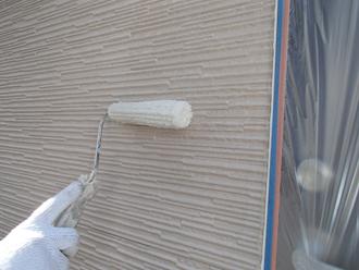 パーフェクトトップ ND-371で窯業系サイディング外壁の塗装