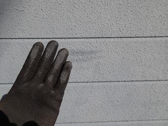 サイディング外壁にはチョーキング現象が