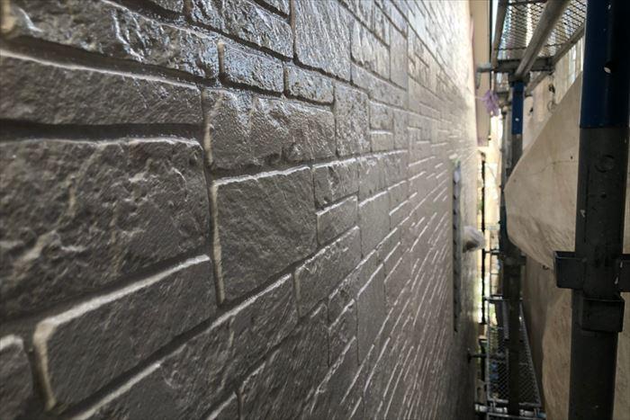 艶感の増した外壁塗装