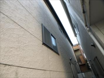 苔が生えてしまった外壁