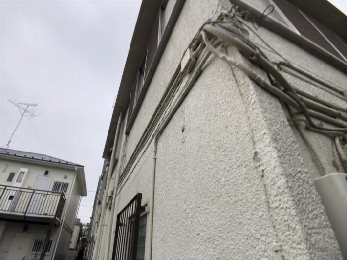 モルタルの外壁
