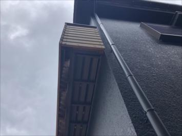 オシャレな木製柵