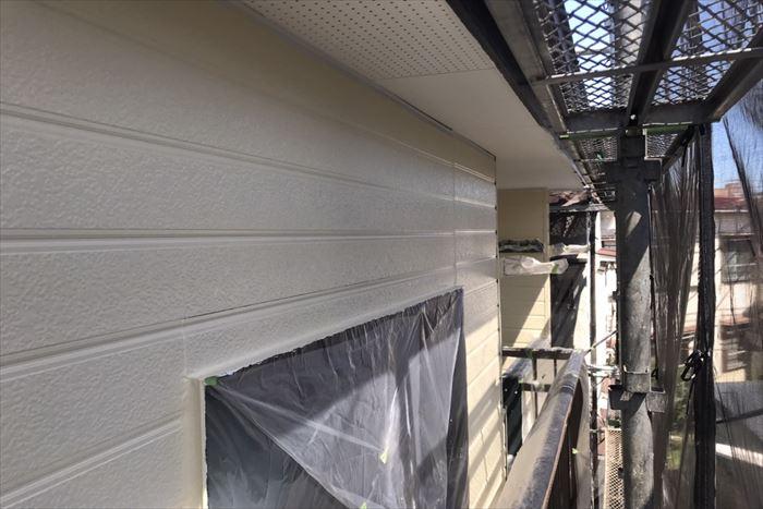 葛飾区新小岩で外壁塗装工事、パーフェクトトップで施工