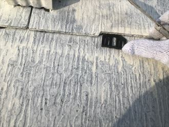 スレートの隙間確保の為のタスペーサー