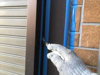 窓廻りの増し打ち施工