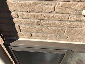 窓枠継ぎ目のシーリング劣化