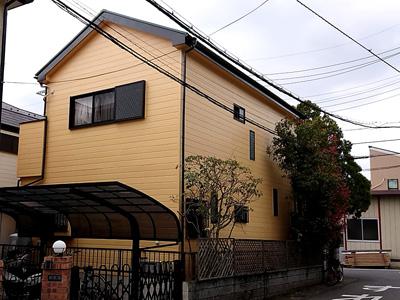 外壁塗装後のお家