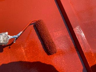サーモアイSi赤錆色で塗装