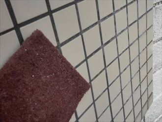 壁タイル洗浄