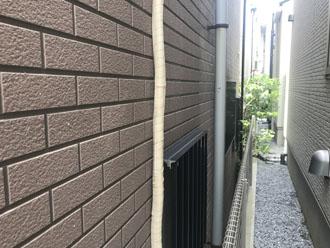 サイディング外壁の様子