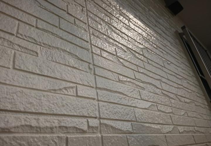 パーフェクトトップ(ND-104)で塗装した窯業系サイディング外壁