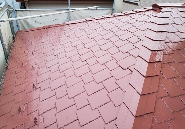 アーバニー屋根 屋根塗装後