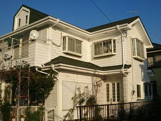 屋根葺き替えと外壁塗装後