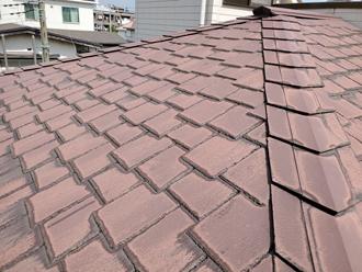 アーバニー屋根 塗装前