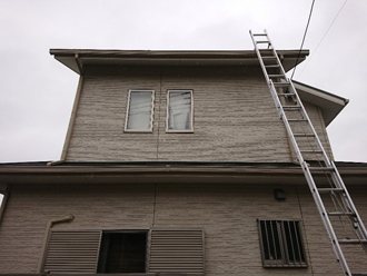 屋根・外壁塗装前
